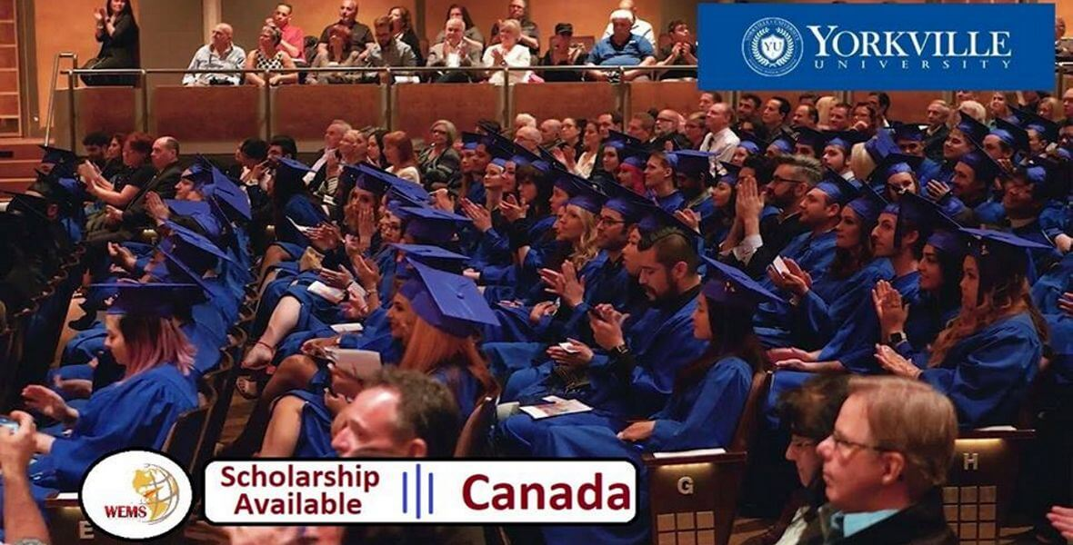 Scholarship Opportunity ($10,000) In Yorkville University, Canada