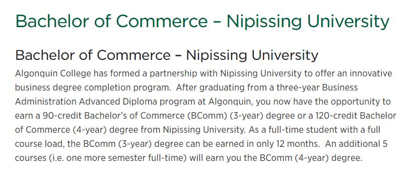 Nipissing University - WEMS